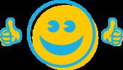 drive in grafik smiley
